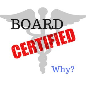 What is Board Certification | Whitten Laser Eye